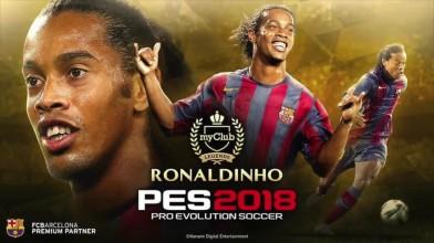 PES 2018 Обзор DLC 4.0 (НОВЫЕ ЛИЦА) Ronaldinho с нами
