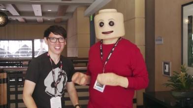 Ужасающий косплей на реального человечка из LEGO