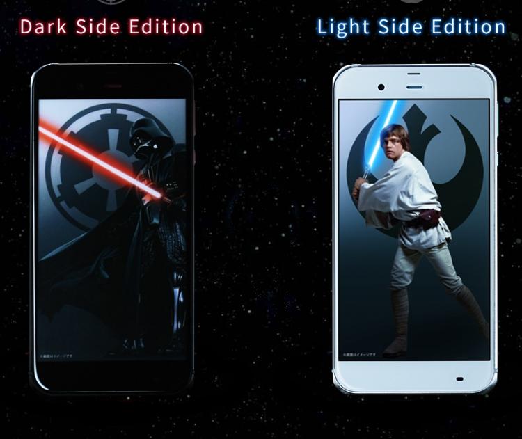 Sharp выпустит мобильные телефоны для почитателей «Звездных войн»