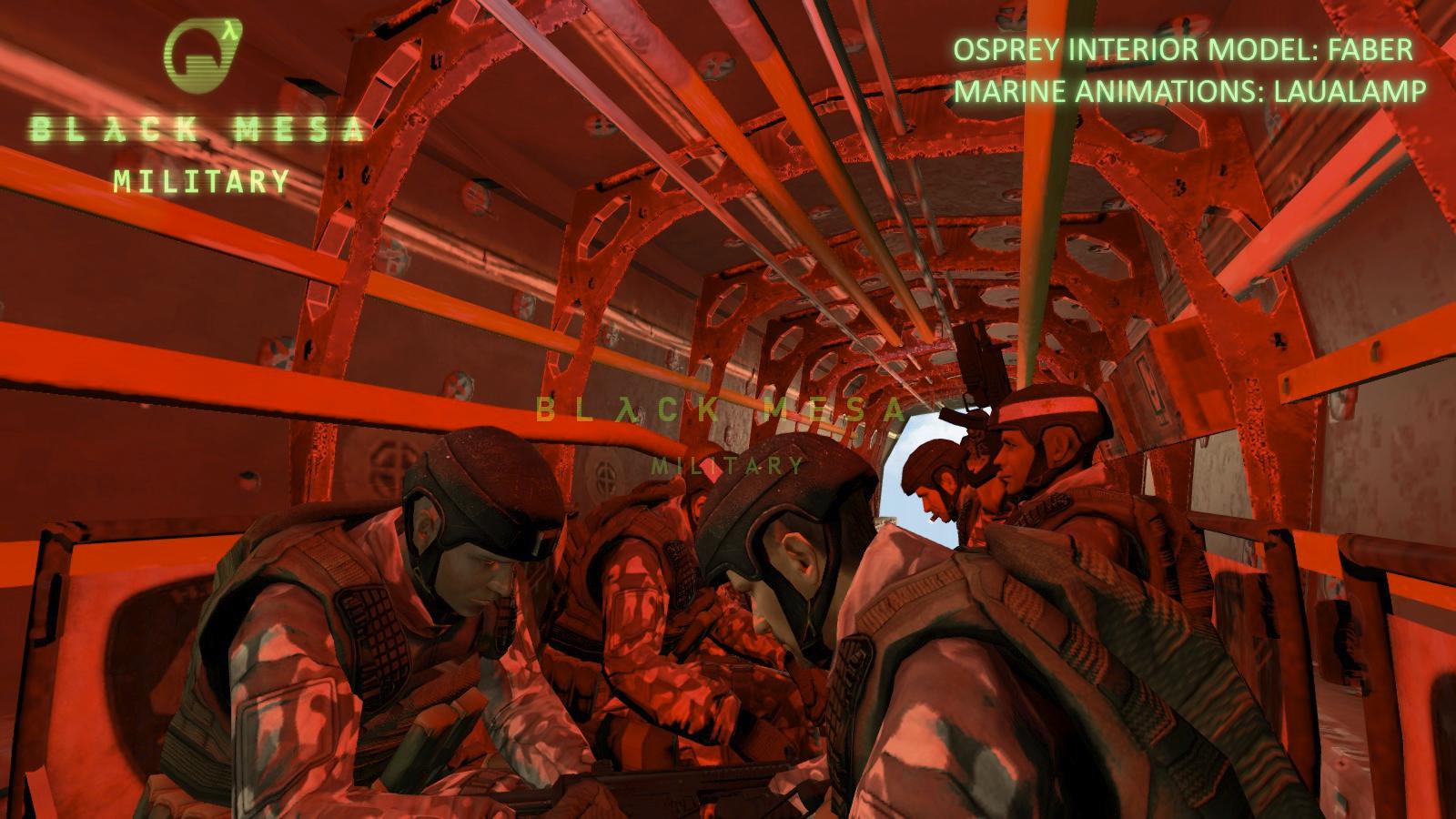 В моде Black Mesa: Military вы взглянете на события Half-Life глазами бойца спецподразделения HECU