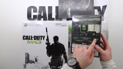 "Call of Duty: Modern Warfare 3 - Распаковка полного издания ""Hardened Edition"""