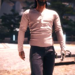 Casual top and jeans (рукава закатаны) / Повседневный верх и джинсы