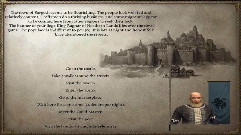 Элемент RPG для баннерной страницы