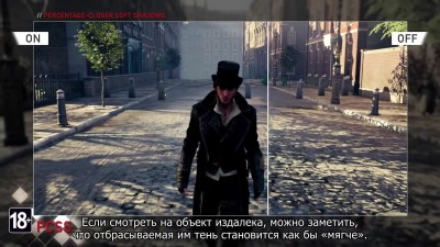Assassin's Creed Syndicate NVIDIA GameWorks трейлер (Русские субтитры)