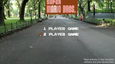 Уровень Super Mario Bros. воссоздали в дополненной реальности