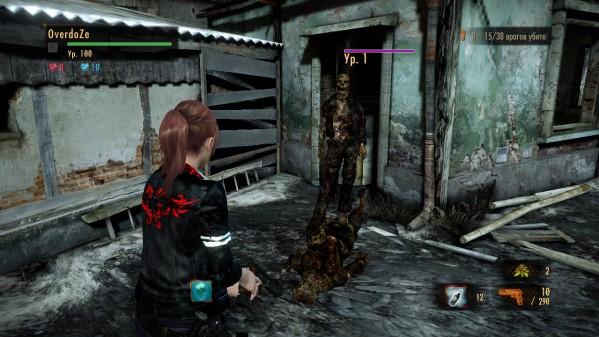 """Resident Evil: Revelations 2 """"Claire Mercer"""""""