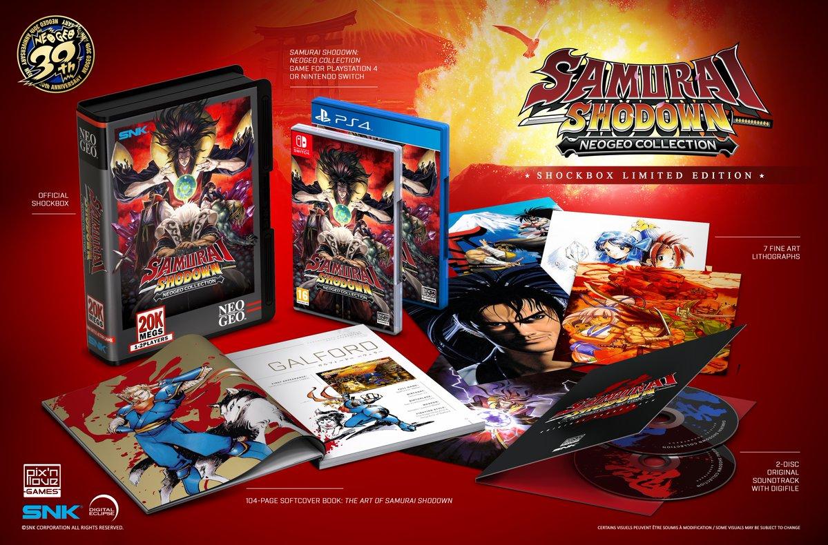 Для Samurai Shodown NeoGeo Collection выйдет лимитированное физическое издание 'Shockbox'
