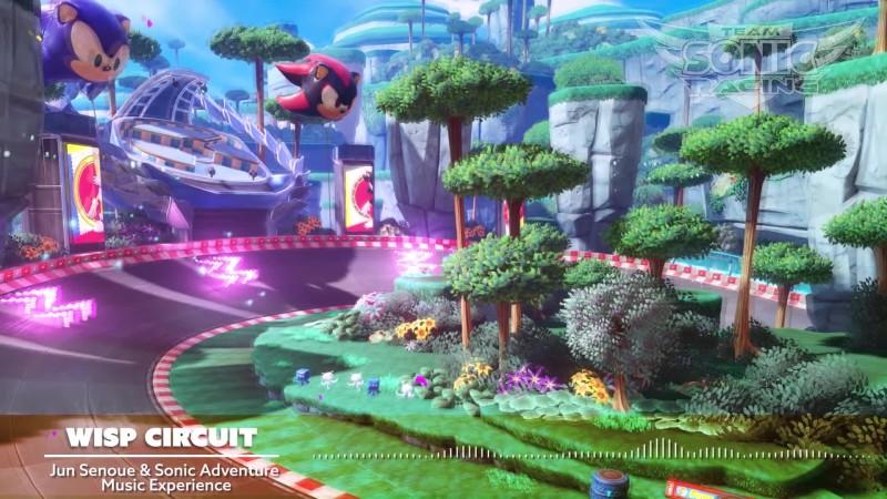 Новая зажигательная мелодия Team Sonic Racing -