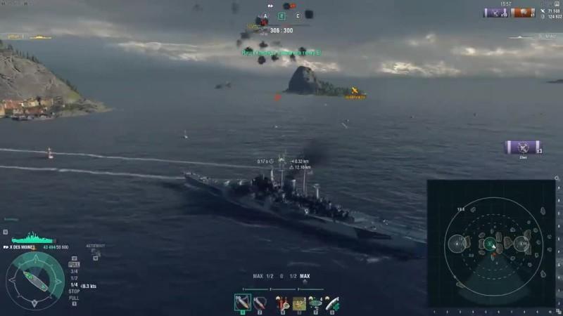 World of Warships - Баланс, авики и премы Полундра