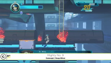 "Mighty No. 9 ""Демонстрация геймплея - E3 2015"""