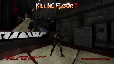 Killing floor 2 - Commando First/third person reload animation PART I