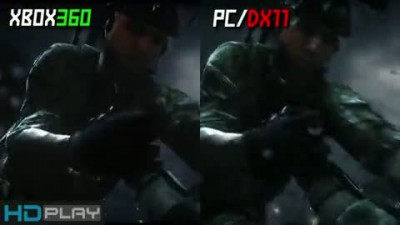 "Medal of Honor: Warfighter ""PC vs Xbox 360 сравнение графики"""