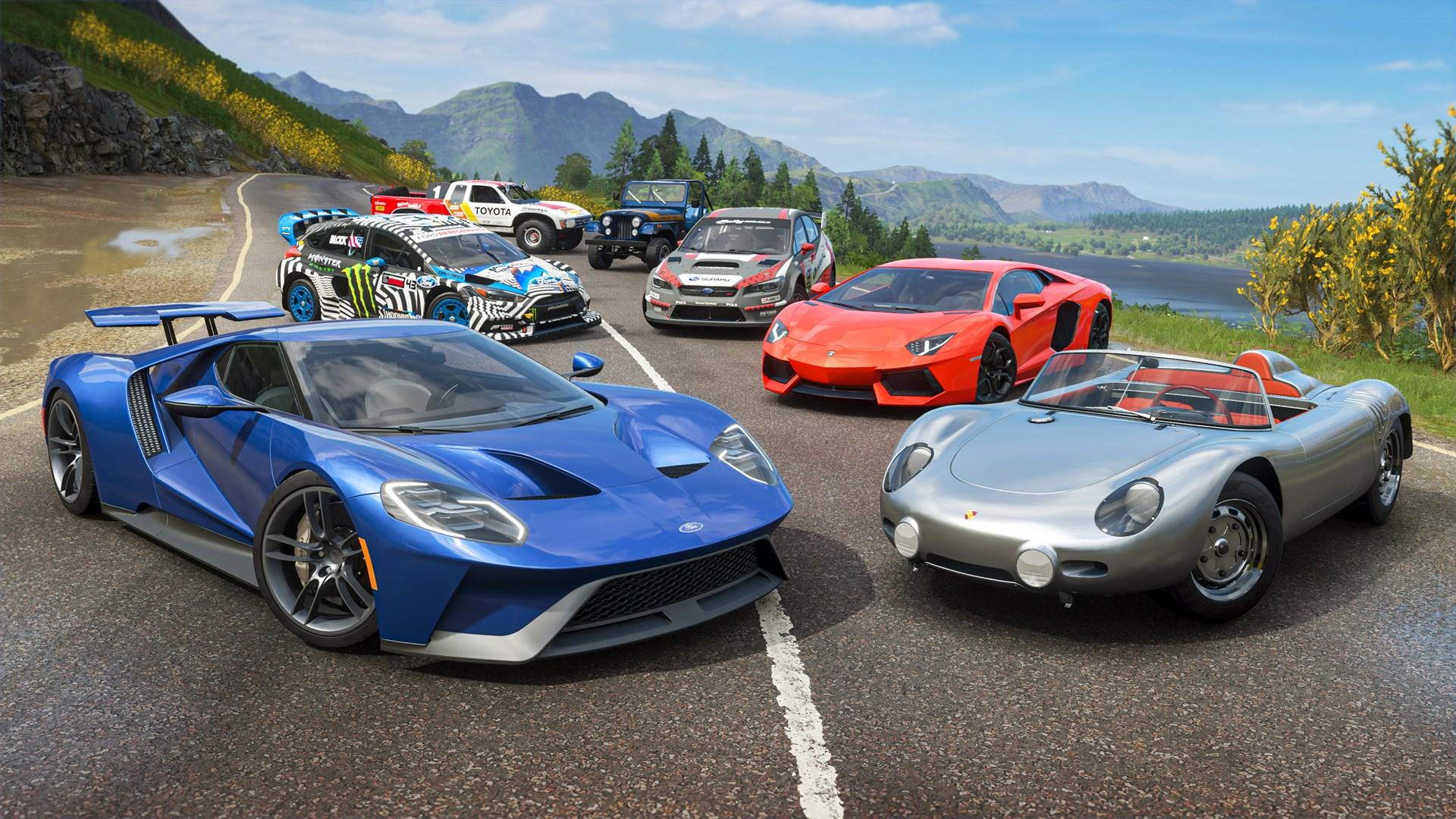 Для Forza Horizon 4 вышел стартовый набор