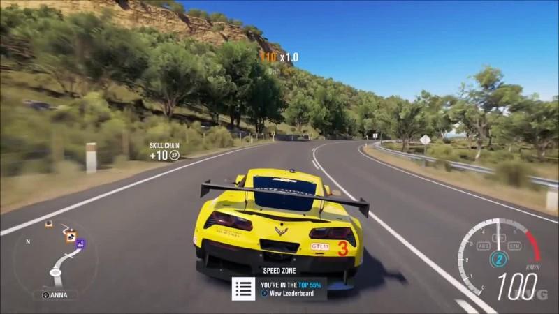 Chevrolet Corvette Racing C7.R 2014 - Forza Horizon 3 - Тест-драйв