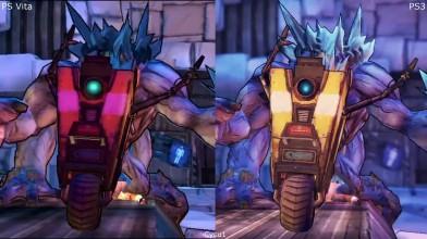 Borderlands 2 PS Vita vs PS3 Сравнение графики