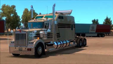 "ATS ""Обзор Kenworth W900B Long Reworked v1.0"""