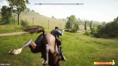 Battlefield 1 - Случайные и Весёлые Моменты #28 (Бедные лошади, троллинг!)