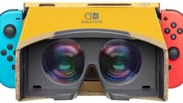 """7 минут """"картонной"""" виртуальной реальности от Nintendo в ролике Nintendo Labo: VR Kit"""