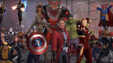 Трейлер приглашает в закрытую бету Marvel Heroes Omega