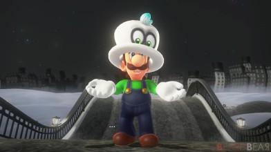 Луиджи стал играбельным персонажем в Super Mario Odyssey