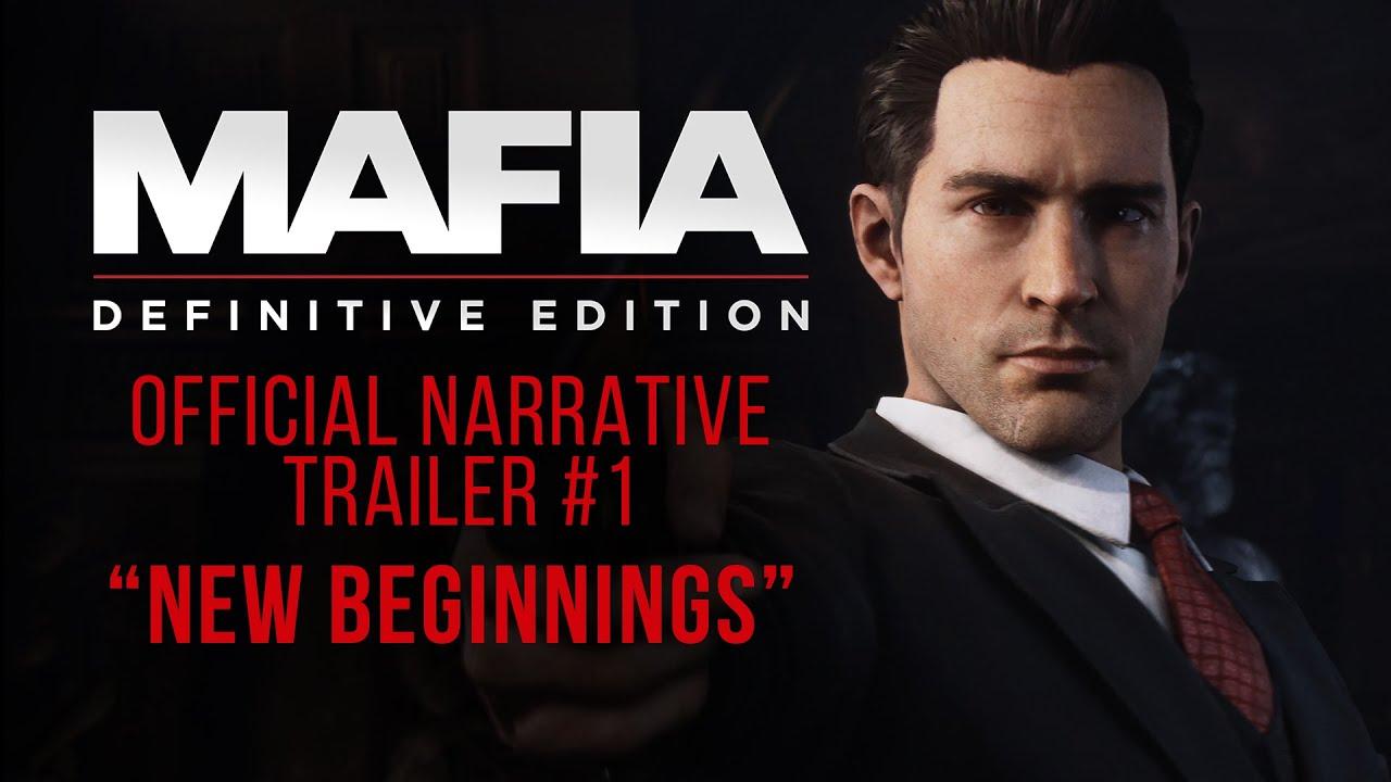 Новый трейлер ремейка Mafia: Definitive Edition с PC Gaming Show 2020