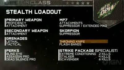 "Modern Warfare 3 ""Stealth Loadout (ENG)"""
