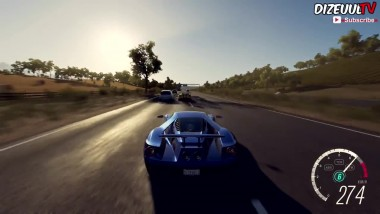 Forza Horizon 3 Ford GT 2017 Геймплей HD