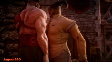 Dragon Age Inquisition - Самые романтические сцены
