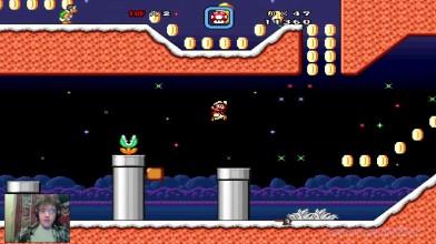 Super Mario Bros. X (v. 1.3) - The New Adventure by Alex v.2.0 - 3. Заморозки мозга (на русском)
