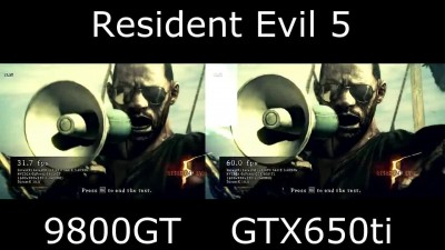 "Crysis 3 ""GTX650Ti vs 9800gt"""