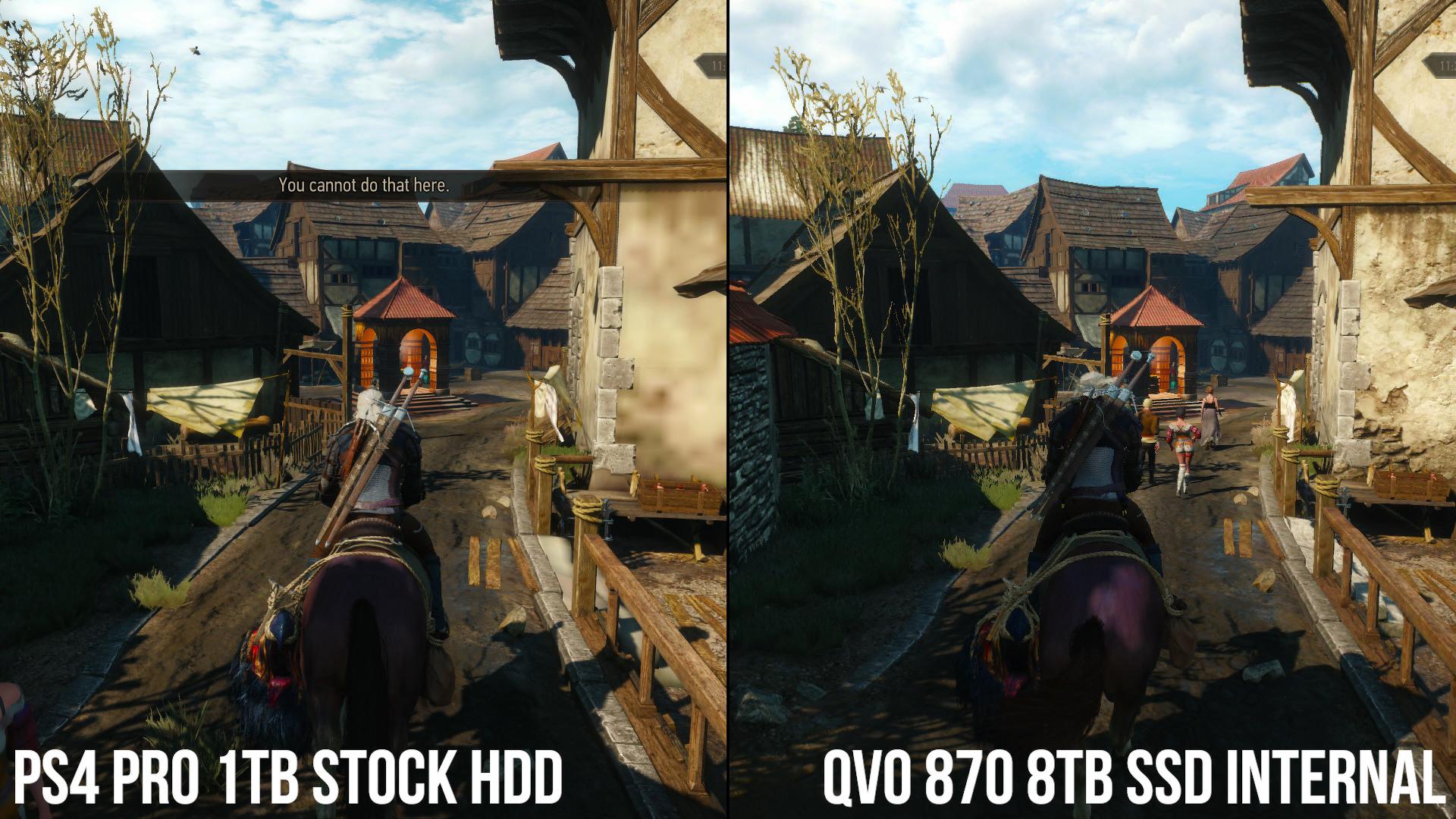 Digital Foundry: установка SSD в PS4 Pro значительно сокращает время загрузки и подгрузки текстур