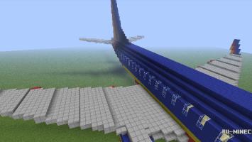 Как сделать в майнкрафте самолёт