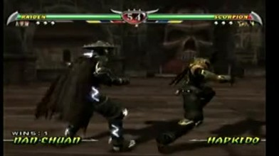 Mortal kombat Deception