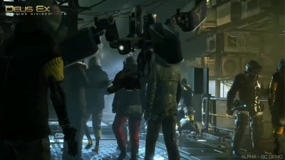 Deus Ex: Mankind Divided - GamesCom 2015 Demo Gameplay
