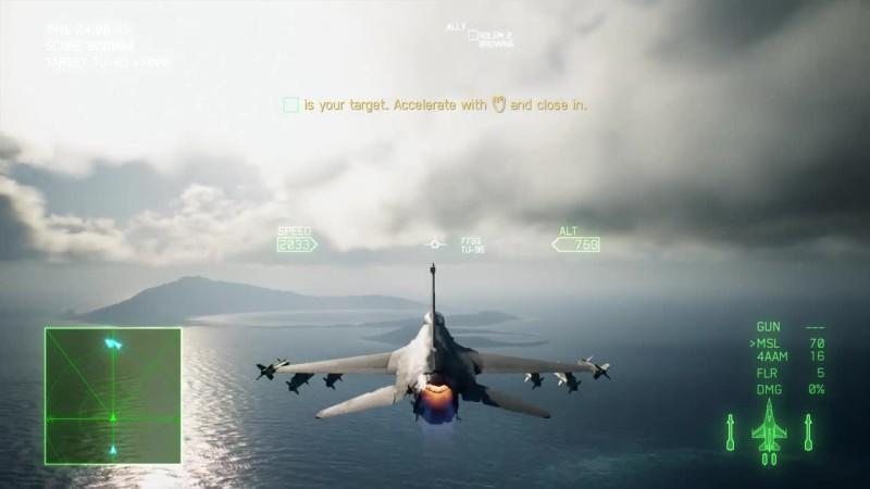Первые 15 минут Ace Combat 7: Skies Unknown