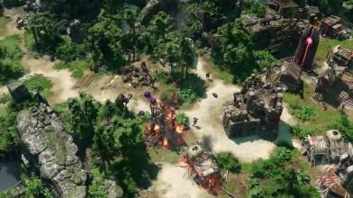 SpellForce 3: Soul Harvest - в геймплейном трейлере раса темных эльфов унижает людей