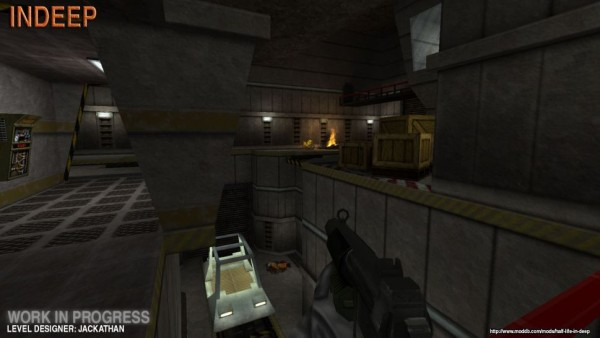Мод воссоздающий альфу Half-Life
