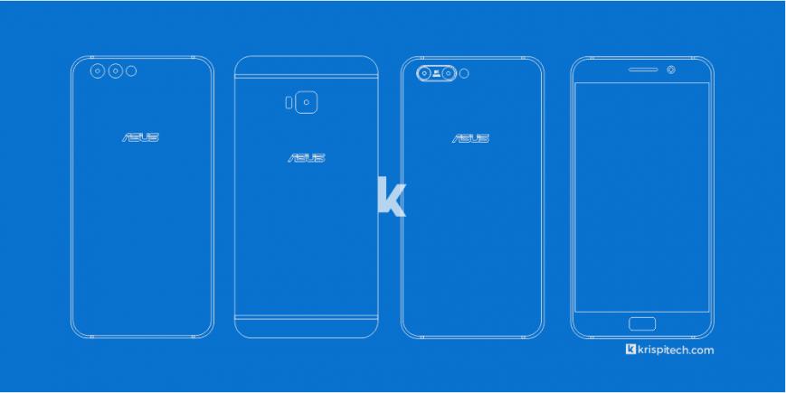 Появились фотографии нового телефона ASUS ZenFone 4 Pro