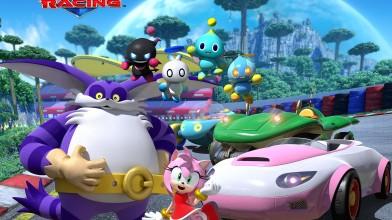 Новый Геймплей Team Sonic Racing