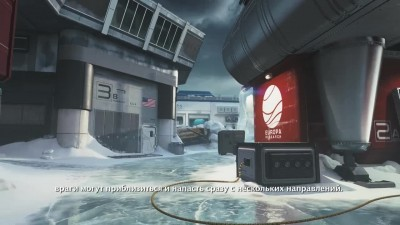 Call of Duty: Infinite Warfare Трейлер карты Frost (русские сабы)