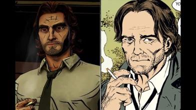 Как выглядят персонажи игры The Wolf Among Us в оригинальном комиксе