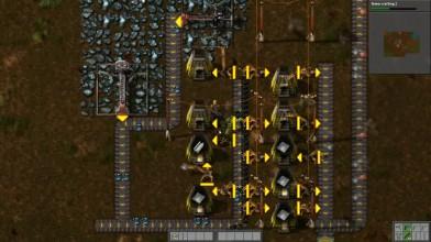 Factorio. Гайд, часть 2. Автоматизация производства стен, красных колбочек и стали