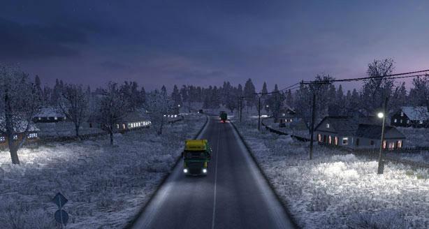 Скачать Мод На Погоду На Euro Truck Simulator 2 - фото 10
