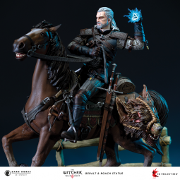 The Witcher 3: Wild Hunt - Студия Dark Horse Direct и CD PROJEKT RED представили статуэтку Геральта и Плотвы