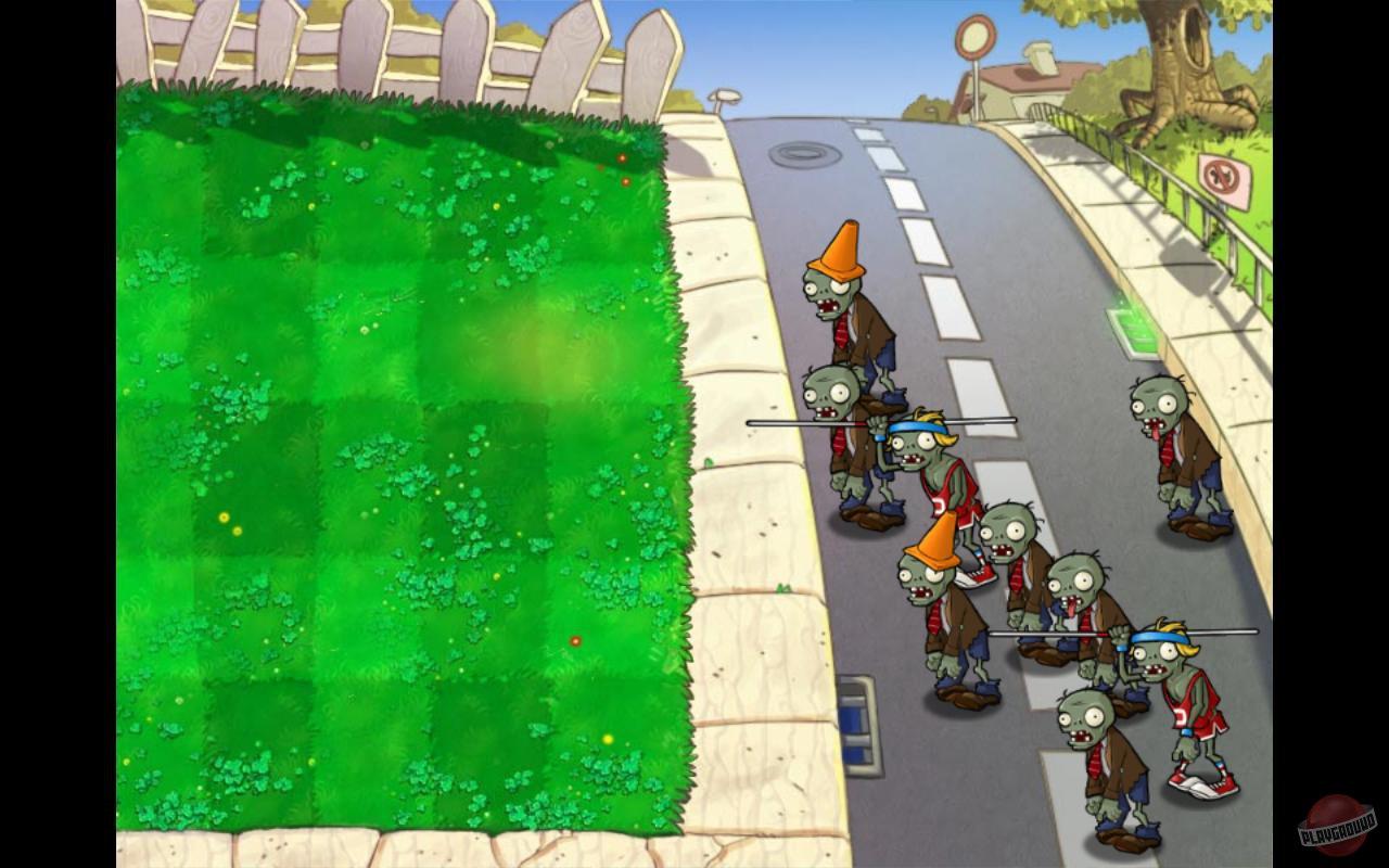 Картинка растения против зомби все газоны