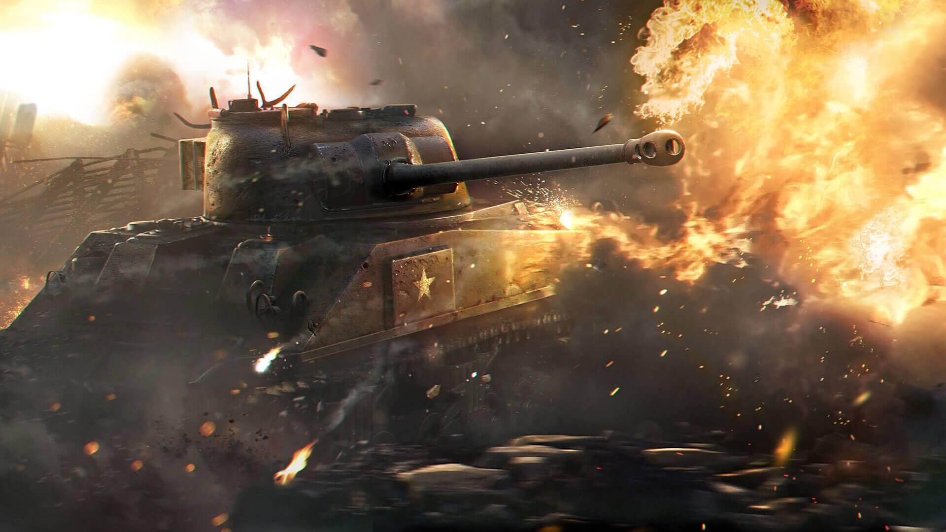 Новое обновление для World of Tanks уже доступно