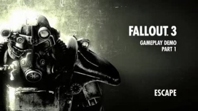 "Fallout 3 ""PAX 2008: Escape Gameplay"""