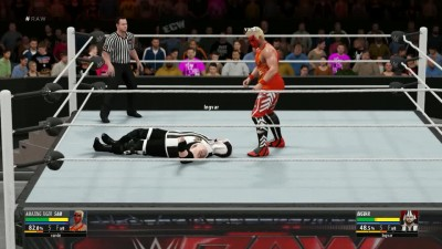 WWE 2K16 Random ONLINE Match 24.03.16 - TIger Sam VS Ingvar