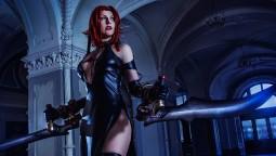 Косплей Рейн из BloodRayne 2