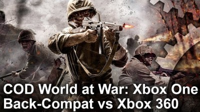Call of Duty: World at War на Xbox One работает лучше